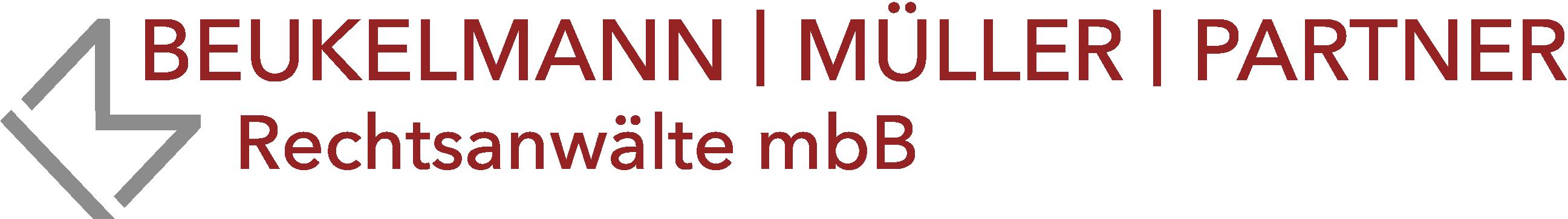 Logo_Beukelmann - Müller - Partner - Rechtsanwälte in München
